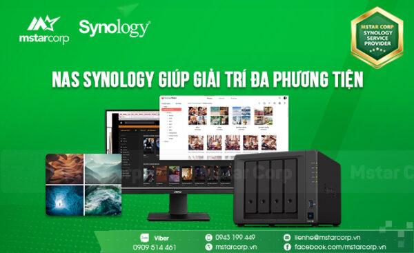 NAS Synology giúp giải trí đa phương tiện
