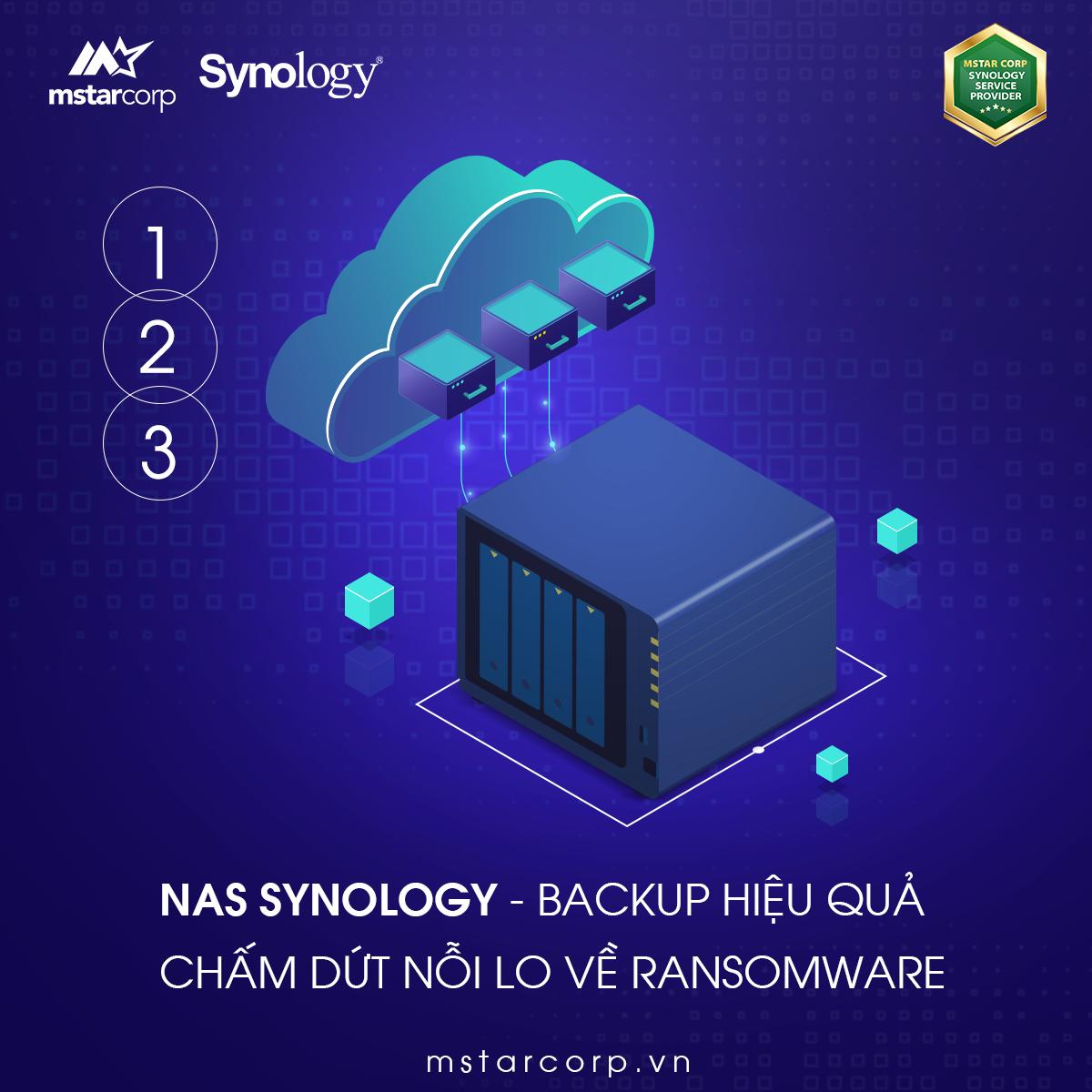 Tối ưu hiệu quả Backup của NAS Synology | Chiến lược Backup