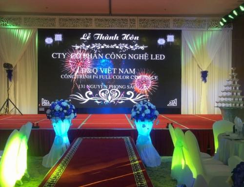[ SHUTTLE ] Màn hình led nhà hàng tiệc cưới có những lợi ích gì?
