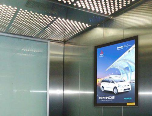 [ SHUTTLE ] Màn hình led quảng cáo trong thang máy đem lại lợi ích gì?