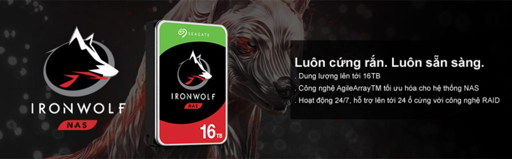 Ổ cứng HDD Seagate IronWolf 4TB - ST4000VN008