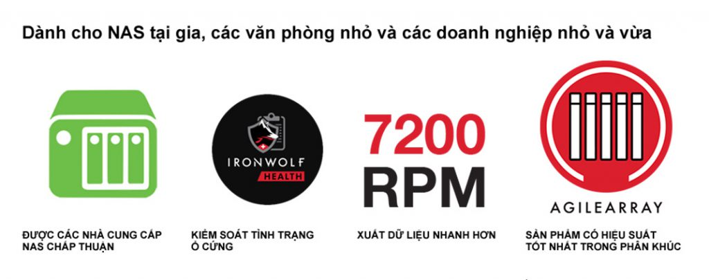 Ổ cứng HDD Seagate IronWolf 14TB - ST14000VN0008