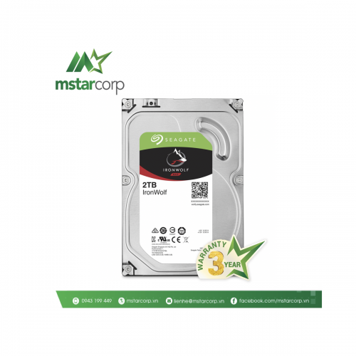 Ổ cứng HDD Seagate IronWolf 2TB - ST2000VN004