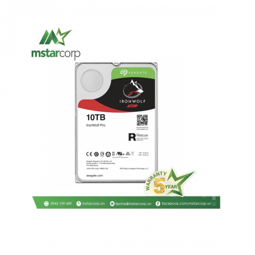 Ổ cứng HDD Seagate IronWolfPro 10TB – ST10000NE0008
