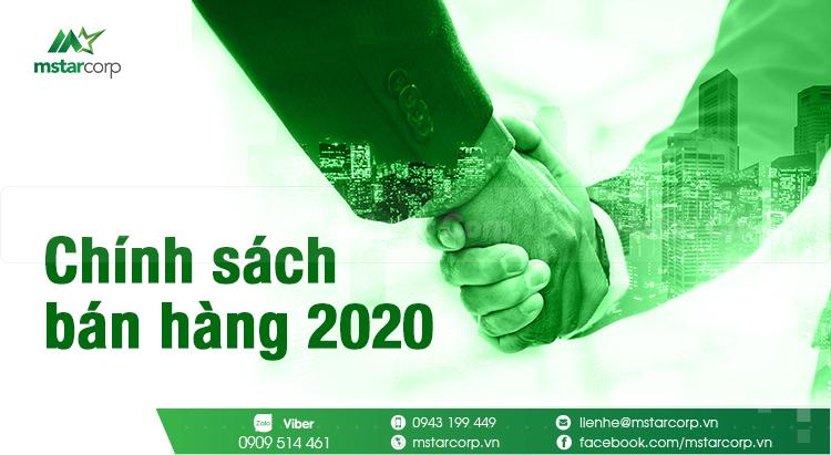 Chính sách bán hàng 2020 của Mstar Corp