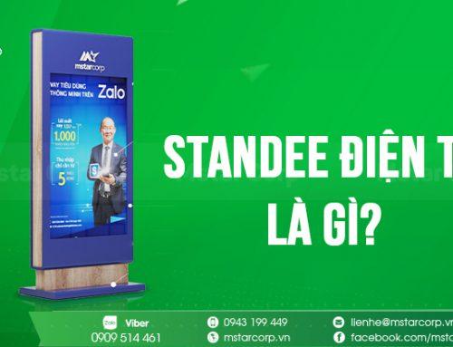 Standee điện tử là gì?