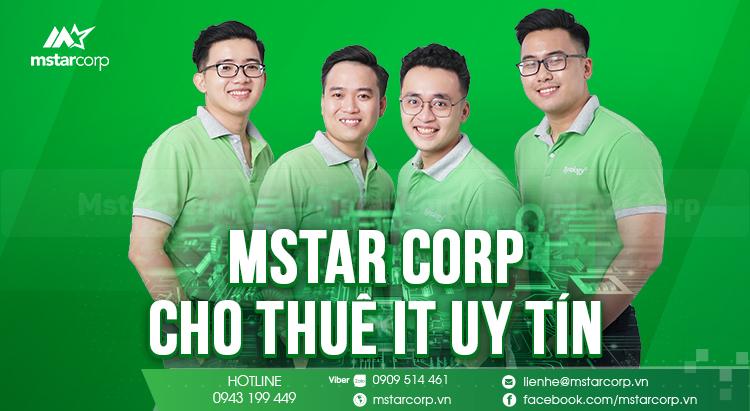 Mstar Corp - cho thuê IT uy tín và chuyên nghiệp tại HCM