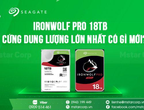 IronWolf Pro 18TB – Dung lượng lớn liệu có hoàn hảo để lưu trữ dữ liệu ?