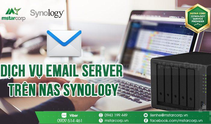 Dịch vụ Email Server trên NAS Synology