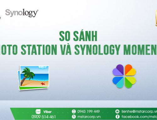 So sánh Photo Station và Synology Moments
