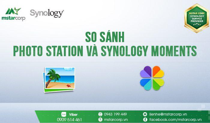 Photo Station và Synology Moments
