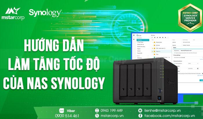 """Hướng dẫn cách tăng tốc độ của NAS Synology bằng """" Defragging """" ( chống phân mảnh ) ổ cứng"""