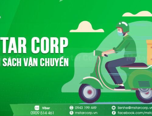Mstar Corp – Chính sách vận chuyển