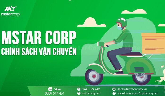 Mstar Corp - Chính sách vận chuyển