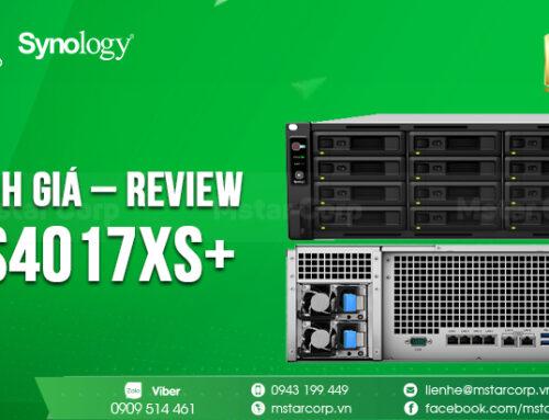 Đánh giá – Review RS4017xs+ | Mstar Corp 0943199449