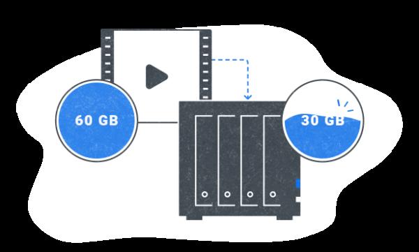 Giảm chi phí lưu trữ video với hệ thống ghi âm linh hoạt