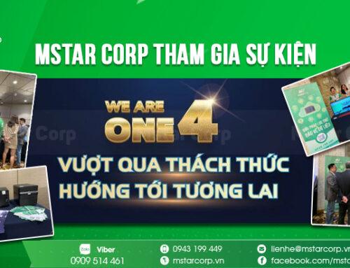 """Mstar Corp tham gia sự kiện """" MSC's We Are One 4 – Vượt Qua Thách Thức – Hướng Tới Tương Lai """""""