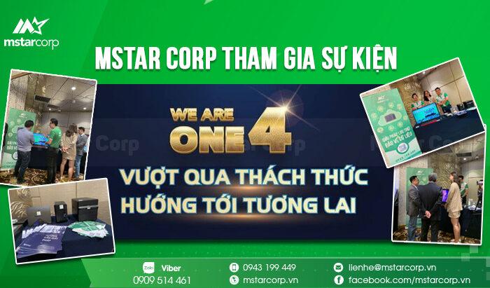 """Mstar Corp tham gia sự kiện """" MSC's We Are One 4 - Vượt Qua Thách Thức - Hướng Tới Tương Lai """""""