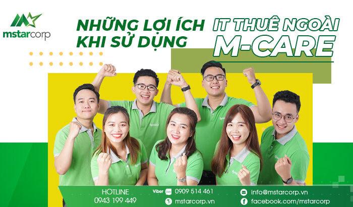 Dịch vụ IT thuê ngoài M-Care của Mstar Corp