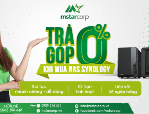 Mstar Corp – Trả góp 0% khi mua NAS Synology