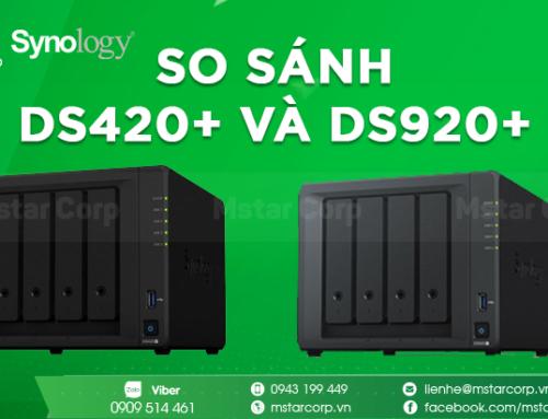 So sánh DS420+ và DS920+ ( Phần II )