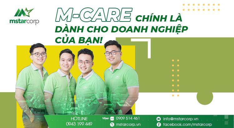 Dịch vụ IT thuê ngoài M-Care cho doanh nghiệp vừa và nhỏ