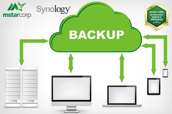 backup dữ liệu trên NAS Synology