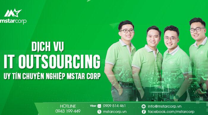 Dịch vụ IT Outsourcing uy tín chuyên nghiệp Mstar Corp