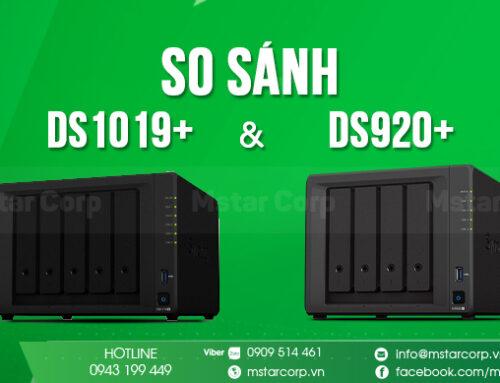 So sánh DS1019+ và DS920+