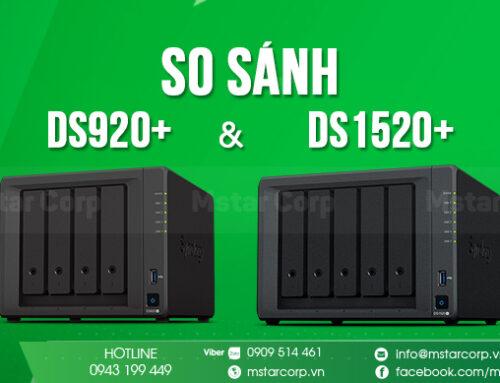 So sánh DS920+ và DS1520+