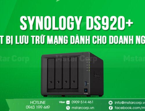 Synology DS920+ – Thiết bị lưu trữ mạng dành cho doanh nghiệp