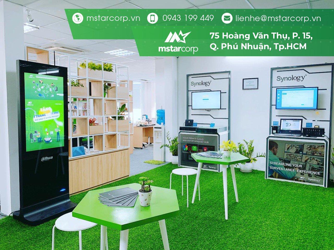 Mstar Corp là đơn vị duy nhất có Showroom trải nghiệm các giải pháp của Synology