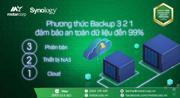 mô hình backup 3-2-1