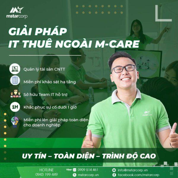 Giải pháp IT thuê ngoài M-Care