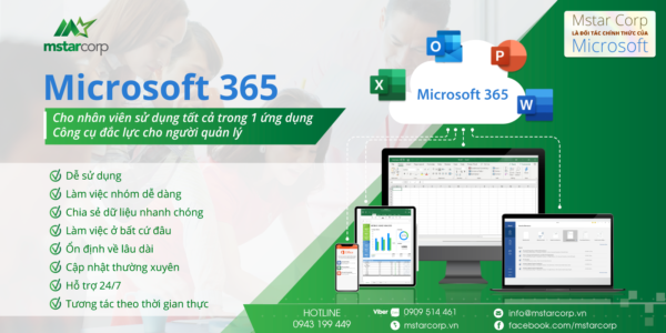 doanh nghiệp nên sử dụng Microsoft 365