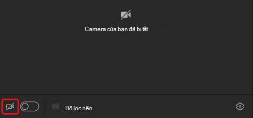Sử dụng video trong Microsoft Teams trên laptop