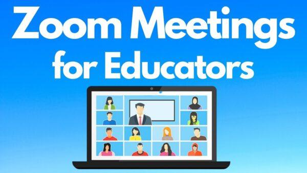 Về Zoom cho giáo dục